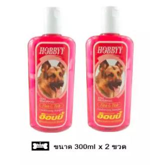 Hobby Dog Shampoo Flea&Tick ฮ็อบบี้ แชมพูสุนัข กำจัดเห็บหมัด
