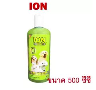 ION แชมพูสมุนไพร สูตรน้อยหน่าและน้ำมันสะเดา กำจัดเห็บหมัดสุนัขและแมว